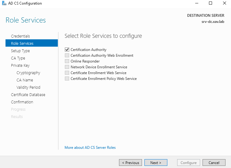 vCenter 6.5 hybrid certificates with Microsoft Standalone CA